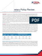 CRISIL Monetary Policy First Cut-Sep 29 2015