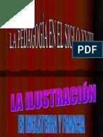 La Ilustracion en Inglaterra y Francia