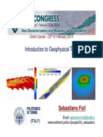 Foti OverviewGeophysicalMethods
