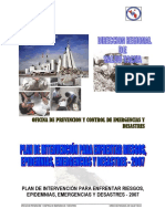Plan Intervencion Emergencias