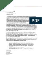 U.S. Postal Service response to Oregon members of Congress