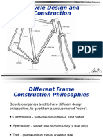 Bicycle Design and Construction