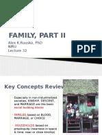 An 100 Lec 31 Families PART II