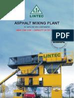 Prospect Lintec Asphalt Mixing Plant