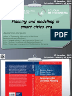 Planning and modelling in smart cities era