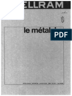 Stellram. Brochure Sur Le Métal Dur (Antiquité)