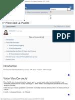 IP Phone Boot Up Process