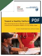 Toward a Healthy California