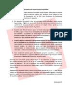 Declaración Solidaridad respecto al proyecto de gratuidad