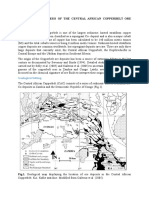GEOLOGY AND GENESIS OF THE CENTRAL AFRICAN COPPERBELT ORE      DEPOSITS-Lecture 8 Notes.docx