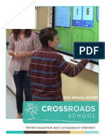 2014-2015 Crossroads School Annual Report