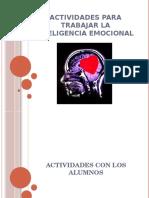 actividades para inteligencia emocional