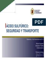 Presentación PA - Seguridad y Transporte plantas de ácido