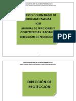 12 Dirección de Proteccióny 3 Subdirecciones Icbf