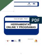 Herramientas Online y Programas Ingles Nivel I