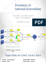 Visualization. Computational Journalism week 7