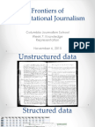 Knowledge Representation. Computational Journalism week 8