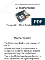 Chapter 2 Motherboard
