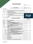 Ship Security Plan Questionnaire