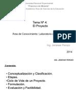 Informacion de Laboratorio Proyectos
