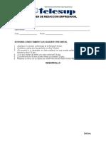 Examen de Redaccion Empresarial