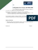 Ejercicio 1 -Checklist Normas