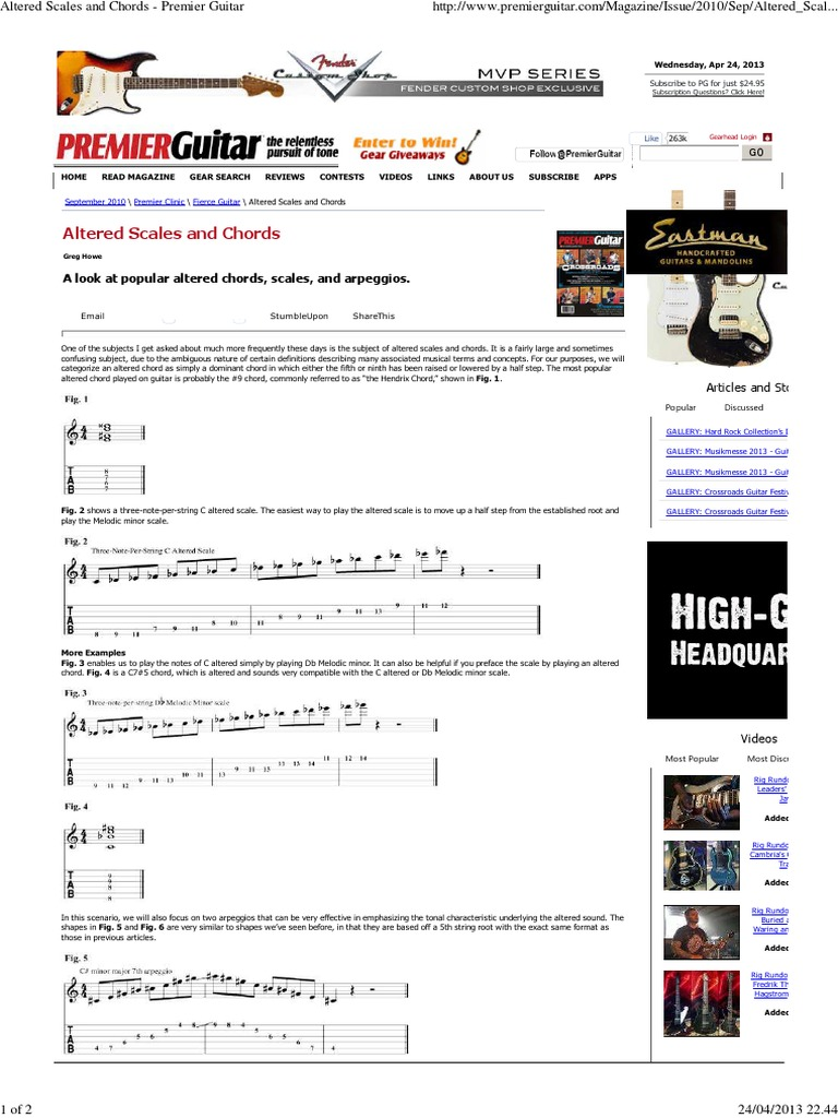 Altered scales and chords premier guitar chord music guitars hexwebz Choice Image