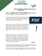 NdP - AOT trae al Perú el nuevo POP3 4G
