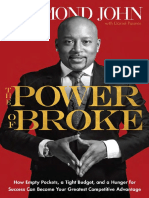 POWER of BROKE by Daymond John-Excerpt