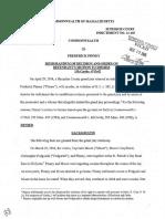 Judge McDonough decision in Frederick Pinney murder case