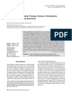 Vestibular Rehabilitation Therapy Review of Indications,