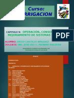 Conservacion de Obras de Irrigacionok