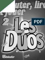 De Haske - Ecouter, Lire and Jouer - Les Duos Vol.2 (Bb)