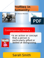 Presentation Literacy Project