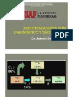 Clase 5 Radiotrazadores Para Diagnostico y Tratamiento
