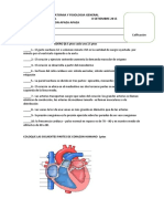 Primer Examen de Anatomia y Fisiologia General Alumno