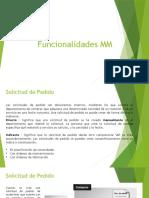 Funcionalidades MM - SOLPED
