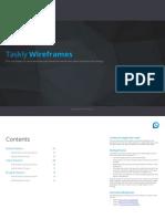 Wireframes & User Testing