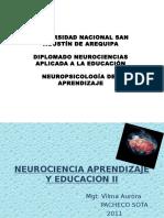 Neurociencia Aprendizaje y Educacion II