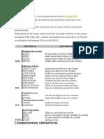 Tipos de sentencias SQL y sus componentes sintácticos.doc