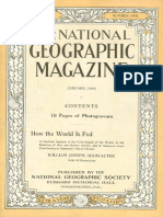 National Geographic Magazine 1916-01