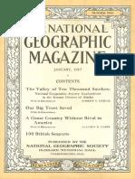 National Geographic Magazine 1917-01
