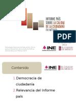 Presentacion Informe Pais