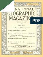 National Geographic Magazine 1917-02