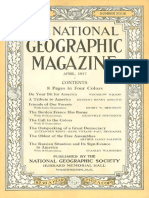 National Geographic Magazine 1917-04