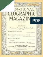 National Geographic Magazine 1917-08
