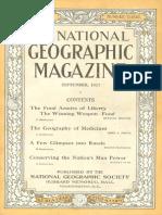 National Geographic Magazine 1917-09