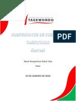 Campeonatos de Portugal Taekwondo_combates_2016