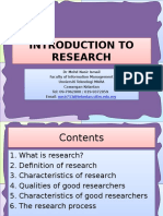 01 Introduction to saResearch