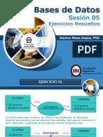 Sesión 05 - 2013-2. Ejercicios Resueltos